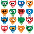 Royalty-Free Stock Vector Image: Cute Aliens