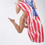 Verenigde Staten-stap-springen — Stockfoto
