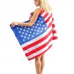 American tiptoe — Stock Photo