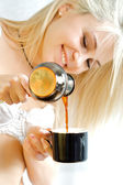 Beautiful coffe — Stock Photo
