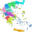 Royalty-Free Stock Vector Image: Vector Greece map