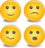 вектор улыбки — Cтоковый вектор