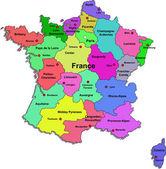 Vector France map — Stock Vector