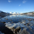 Stock Photo: Loch Eil in winter.