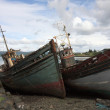 Abandoned Fishing Boats. — Stock Photo