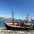 Stock Photo: Old Scottish Fishing boat.