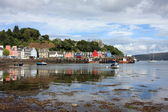 Tobermory on the Isle of Mull in the Highlands of Scotland. — Stockfoto