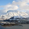 Panorama of Ben Nevis and Fort William. — Stock Photo