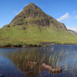 Panorama of Buachaille Etive Beag. - Stock Photo