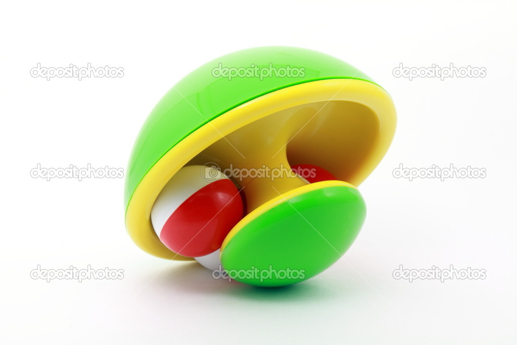 Colorful toy on isolated background — Stock Photo #3557778