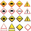 Signs — Stock Vector