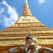 Royalty-Free Stock Photo: Giant and gold pagoda Wat Phra Kaeo temple