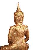 Gilded Buddha image — Stock Photo