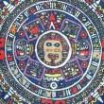 Aztec calendar — Stock Photo
