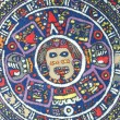 Aztec calendar — Stock Photo #3636229