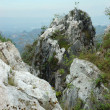 Karst mountain — Stock Photo