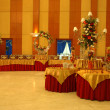 Banquet hall - Stock Photo