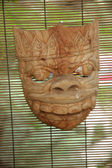 Wooden mask — Stock Photo