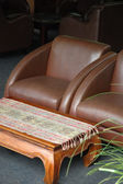 Brown chair — Stock Photo