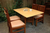 Dinning table — Foto Stock