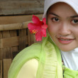 Moslem lady — Stock Photo