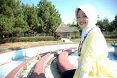 Moslem lady — Stock Photo