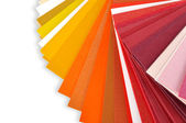 Layout of colored paper — Stock Photo