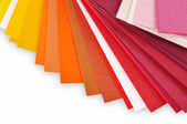 Layout of colored paper3 — Stock Photo