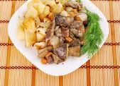 Setas con potatoe2 — Foto de Stock