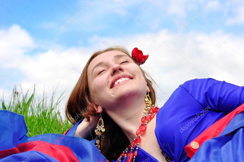 Цыганская девочка блондинка фото 292-339