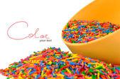 Разноцветные конфеты — Стоковое фото