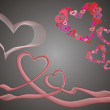 Valentines background — Vector de stock #3633593