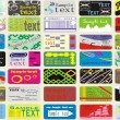 ストックベクタ: Various Business Card