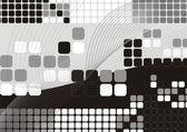 Abstraktní futuristické moderní zázemí — Stock vektor