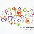 Abstract colorful background - Stockvectorbeeld