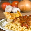 Stock Photo: Spaghetti & Meat Sauce
