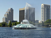 Lake Eola — Stock Photo