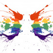 Royalty-Free Stock Photo: Rainbow paint