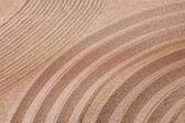 Zen garden of sand — Stock Photo