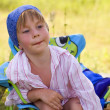 Little boy outdoor — Stock Photo #3666089