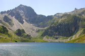 Lake Ilheou, Cyrque Du Lys, Cauterets - Pyrenees — Stock Photo
