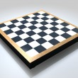 Royalty-Free Stock Photo: Blank Chess Board