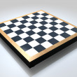 Blank Chess Board — Stock Photo