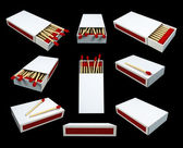 Match Boxes — Stock Photo