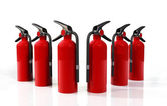 Fire Extinguishers — Stock Photo