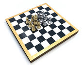Chess Group — Stockfoto