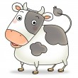 12 chinese new year icon 02 - cow — Stock Photo