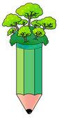 Penna träd — Stockfoto