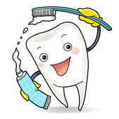 Healthy tooth — Stock Photo
