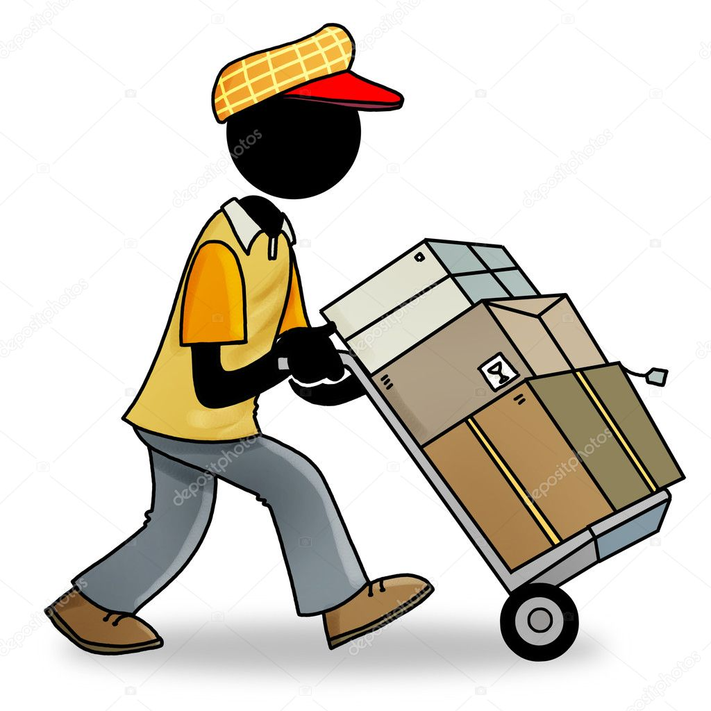 clipart delivery man - photo #28